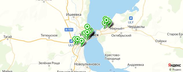 детское меню на карте Ульяновска