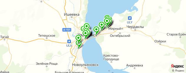 печать фото на карте Ульяновска