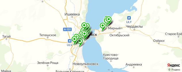 аптеки на карте Ульяновска