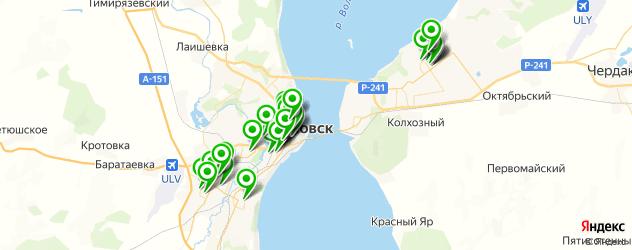 стоматологические клиники на карте Ульяновска