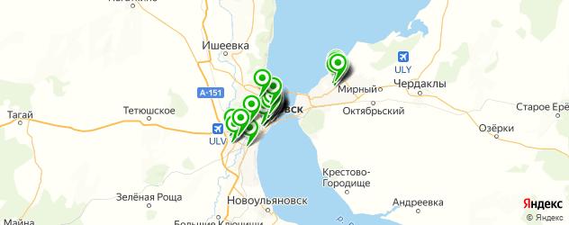 студии маникюра на карте Ульяновска