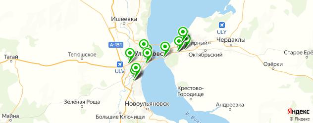 мотосалоны на карте Ульяновска