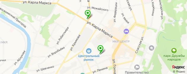 мезотерапия лица на карте Ульяновска