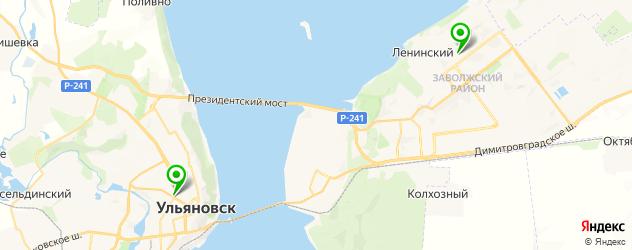 контурная пластика губ на карте Ульяновска