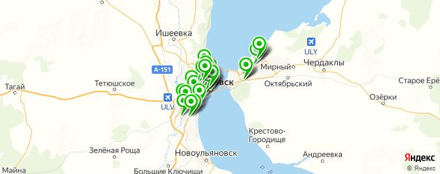 караоке на карте Ульяновска