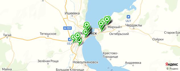 аромамассаж на карте Ульяновска