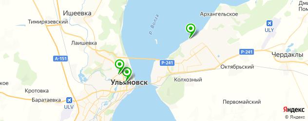 шаурма на карте Ульяновска