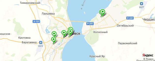 итальянские рестораны на карте Ульяновска
