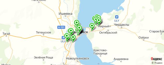 кавказская кухня на карте Ульяновска