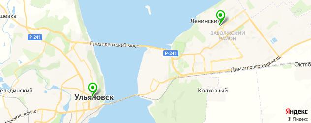 отметити день рождения в антикафе на карте Ульяновска