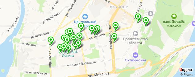 музеи на карте улицы Ленина