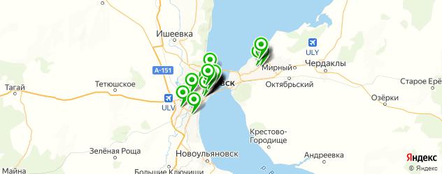 Образование и развитие на карте Ульяновска