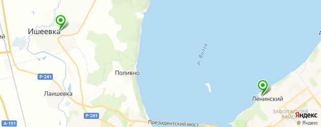 конные клубы на карте Ульяновска