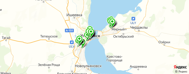 татуаж губ на карте Ульяновска