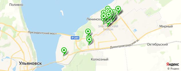 студии маникюра на карте Заволжского района
