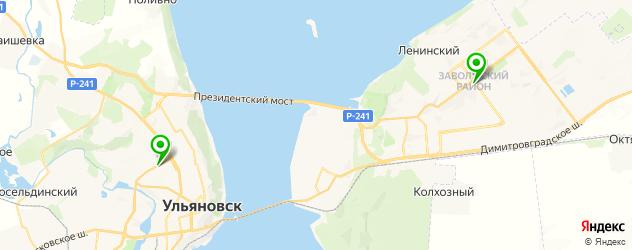 еда для похудения на карте Ульяновска