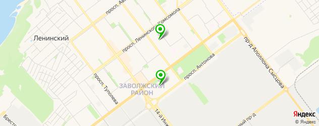 академии на карте Нового Города