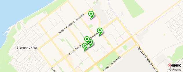 лаборатории анализов на карте Нового Города