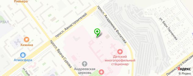 морги на карте Ульяновска
