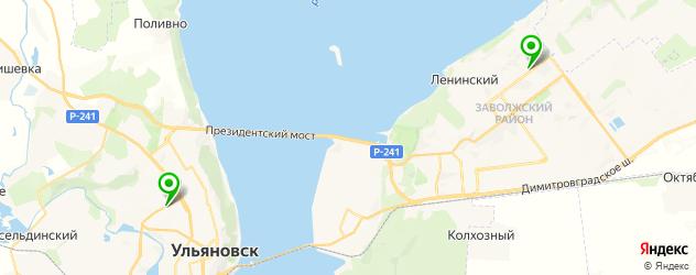 здоровая еда на карте Ульяновска