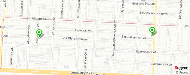 автосервисы на карте 2-й Шатурской улицы