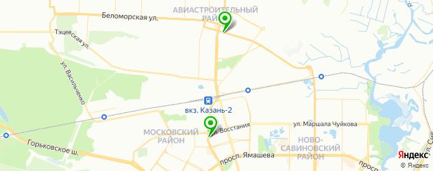 автошкола для инвалидов на карте Казани