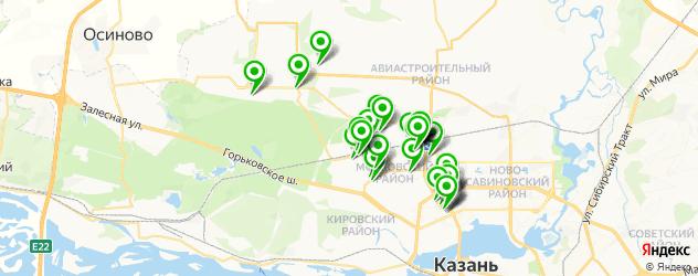 автосервисы на карте Московского района