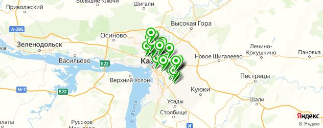 обувные мастерские на карте Казани