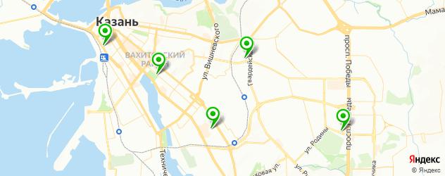 модельные агентства на карте Казани