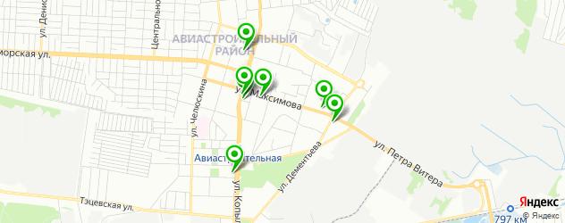 фото на документы на карте Авиастроительного района