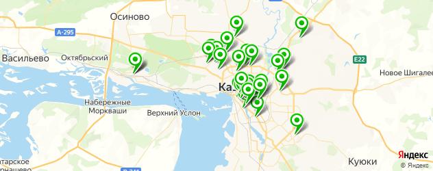 фотостудии на карте Казани