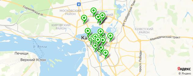 ужин на карте Казани