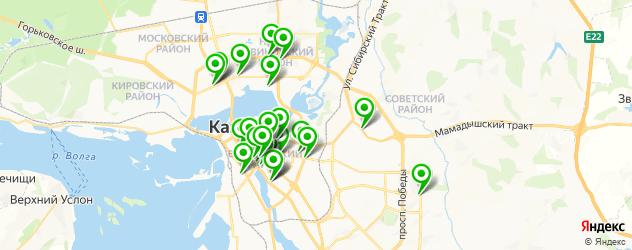 японская кухня на карте Казани