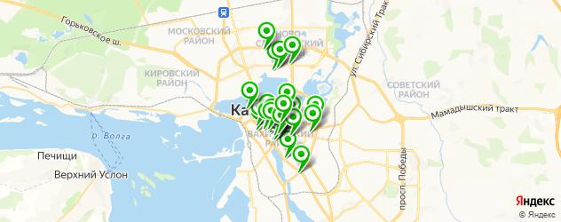 европейская кухня на карте Казани