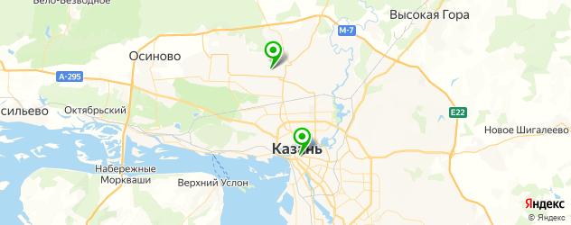частные школы на карте Казани