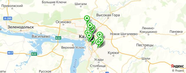 кальян на карте Казани