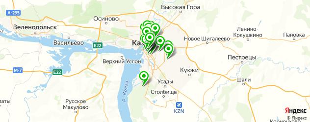 Красота на карте Казани