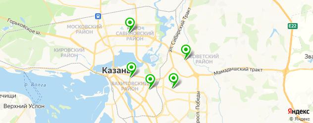 анализ крови на карте Казани