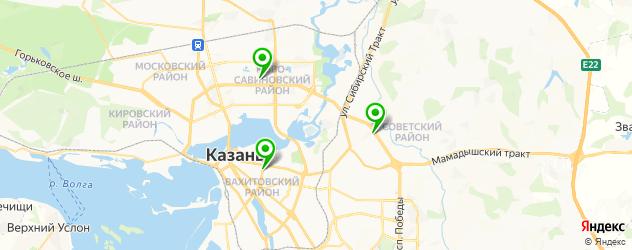 водительская медкомиссия на карте Казани