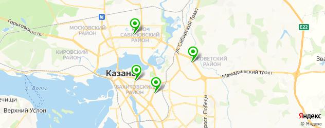 анализы на гепатит на карте Казани