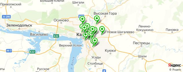анализы ПЦР на карте Казани