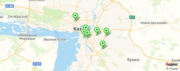 гелевый маникюр на карте Казани