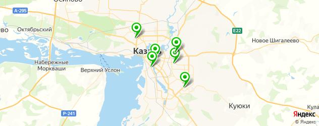 восстановление ногтей на карте Казани
