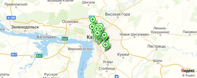 пирсинги салон на карте Казани