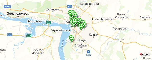 салоны красоты на карте Казани