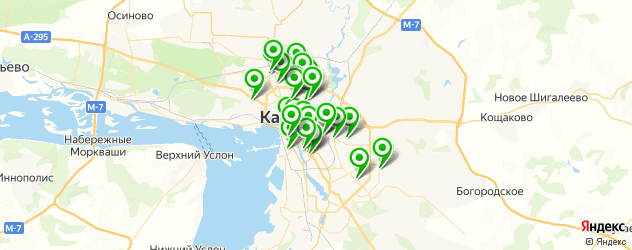 центры косметологии на карте Казани