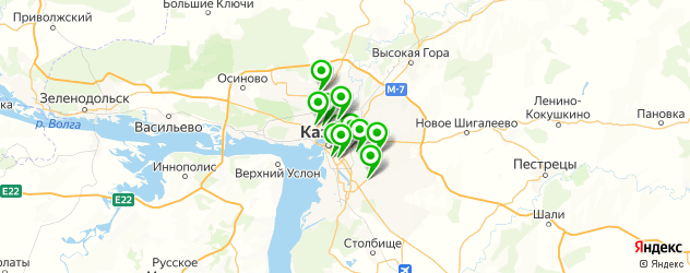 педикюр гель-лаком на карте Казани