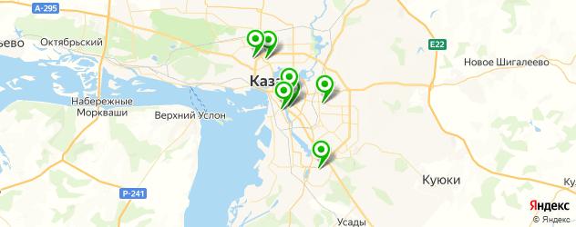 удаление натоптышей на карте Казани