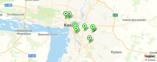 укрепление ногтей биогелем на карте Казани