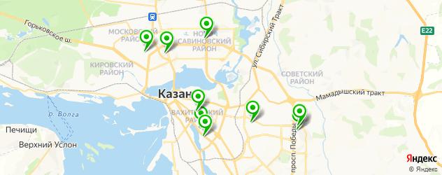 европейский маникюр на карте Казани